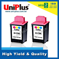 Compatible with Sharp AJ-C50C Color inkjet cartridge