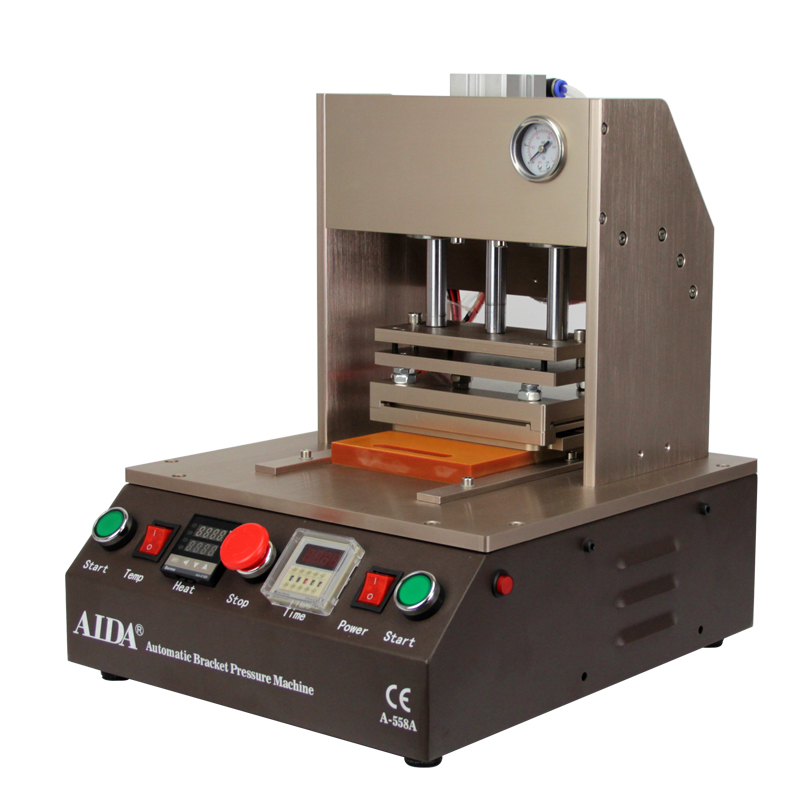 Automatic Frame Laminator AIDA A558A Hot Pressure Bracket Laminating Machine for iPhone Screen Bezel for iphone 4 5 6