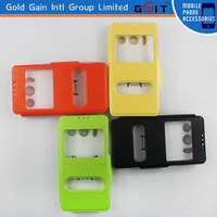 New Arrival Double Window Magnetic Flip Cover For Huawei Y300 Flip Case With Multicolors