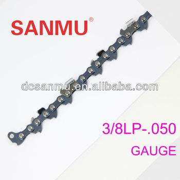 "12"" 3/8""lp .050""gauge Semi Chisel King Chainsaw Chain for Chainsaw"