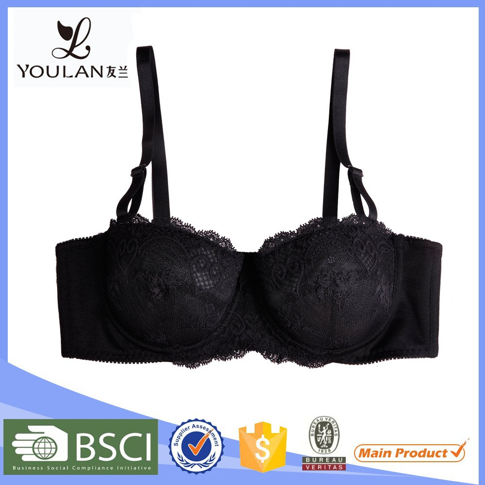 Female Flower Lace Bra Size Cup