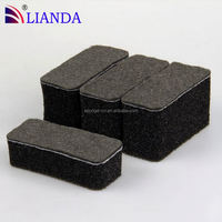 kitchen cleaning stainless steel scourer,stainless steel scouring pads,steel sponge scourer