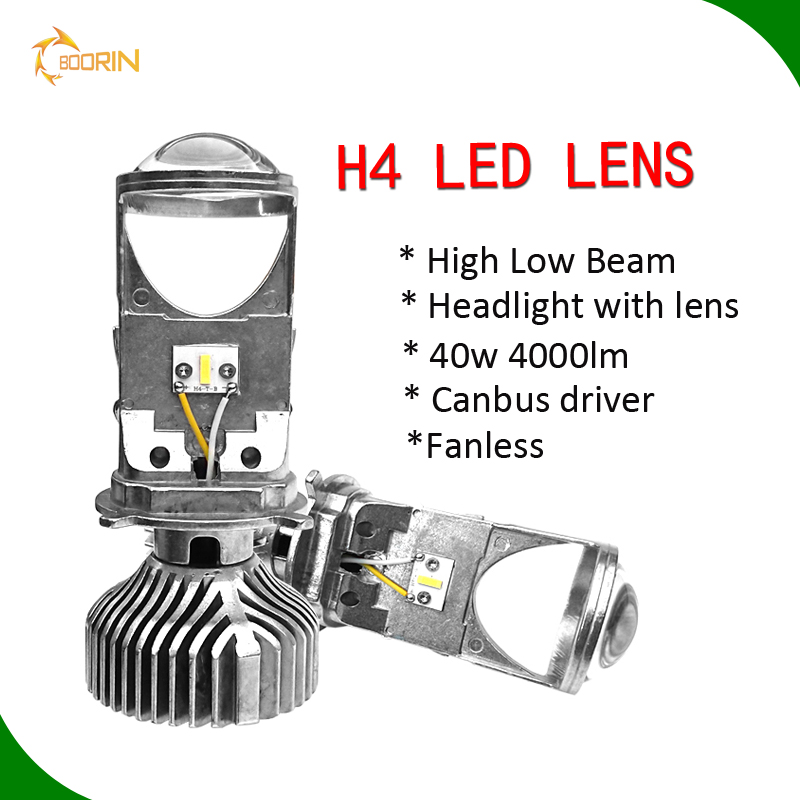 High power spot <strong>light</strong> 40w 4000lm Y6 G7 h1 h3 h4 h7 <strong>h10</strong> h11 9005 9006 d1s d2s d3s d4s bi <strong>hid</strong> led lens for car Mini led headlight