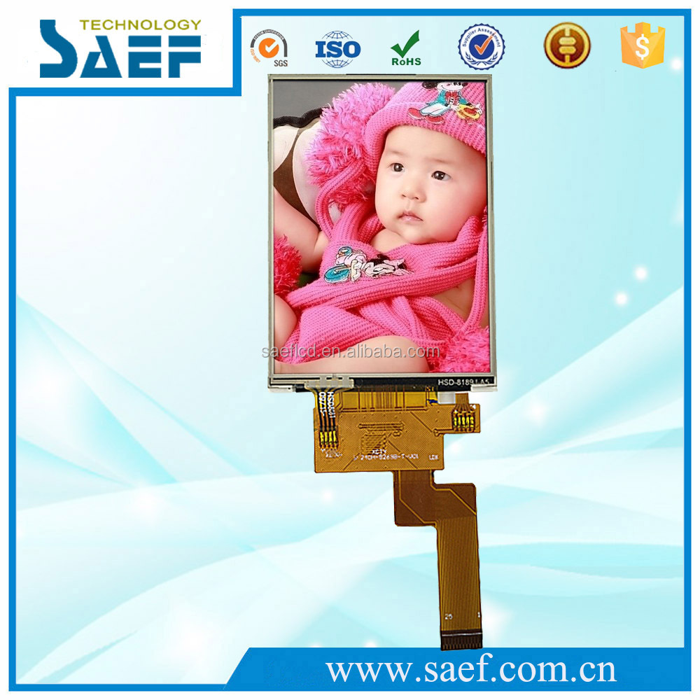 2.4 inch 240x320 pixel resolution without touch screen camera module