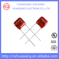 Electronic Parts Metallized Polyester Film Capacitor 1.5uF 400v