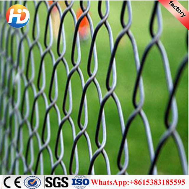China manufacturer decorative retractable chain link fence