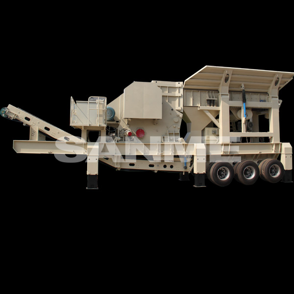 PP Series Mobile Crusher for sale for Construction Waste Recycling Management
