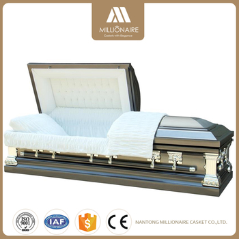 Top Quality metal casket and wood with great price