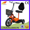 3 Wheel Foldable Electric Scooter Adult Trike