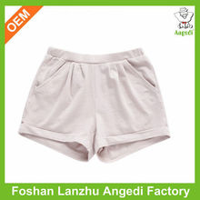 fashion girls short pants pockets ready made