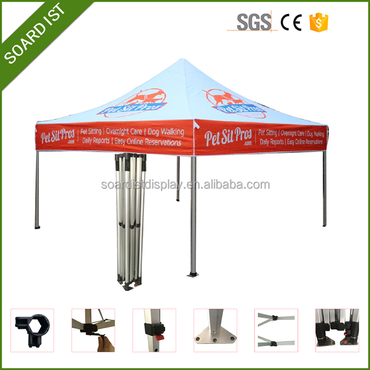 competitive price 3x3 outdoor advertising promotional folding tent pavilion