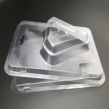 Free Samples Transparent Blister Packaging Box with Inserted Printed Paper Card Heart Shape Clamshell