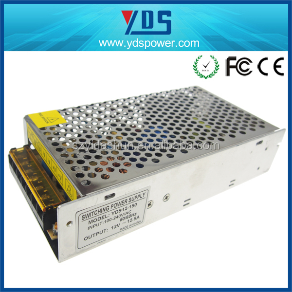 150w 12v multi output power supply adjustable power supply YDSBH12-150 led strip power supply