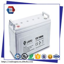 kweight 12V 100AH Deep Cycle Gel battery VRLA battery with long life design for ups,solar system,telecom