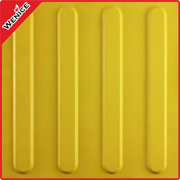 rubber guiding blind brick tile