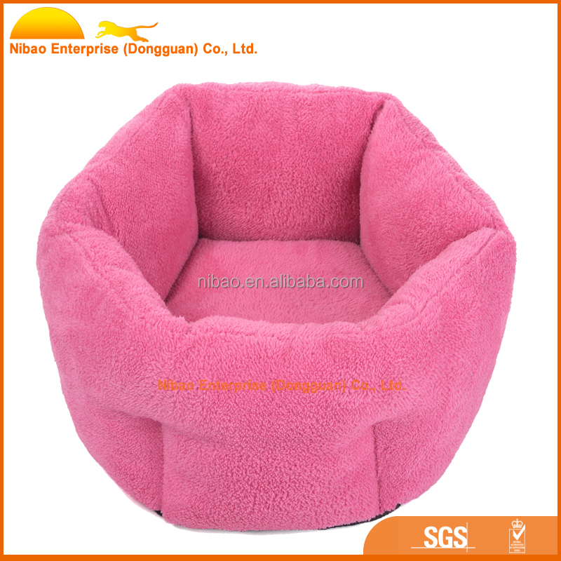 high quality faux fur pet bed for small animal
