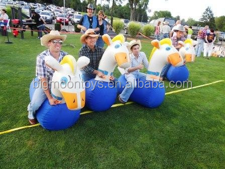 inflatable jumping horse sports games