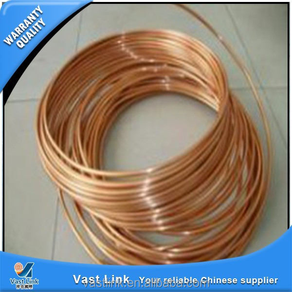 Third party inspected high pressure copper tube from China