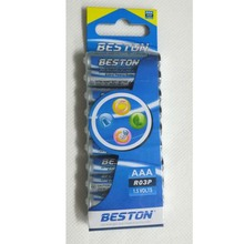 Beston 1.5V extra Heavy Duty UM4,R03P, AAA battery AAA for head light, toys, game controller