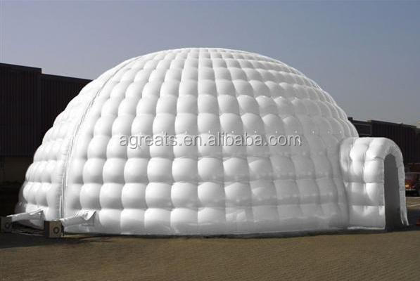 Customized inflatable igloo tent, inflatable building, inflatable marque S1073