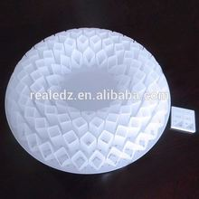 High power long lifespan Acrylic modern bedroom ceiling panel lamp D500*H110mm led ceiling light