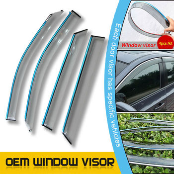 Universal Door Visors/Window Visor/Window Deflector for Landrover Discovery 4