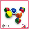 ICTI Factory new design and nice vinyl stuffed juggling balls