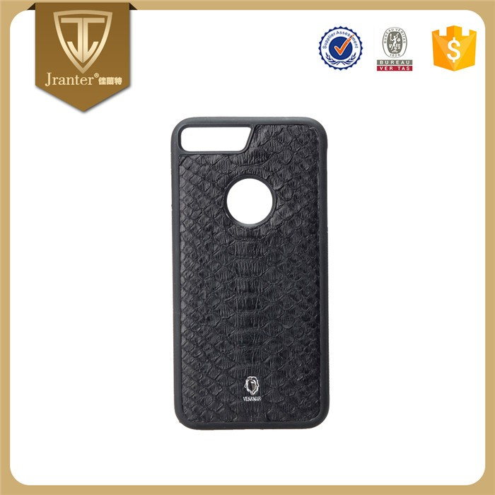 Customize for Iphone 6/iphone 7 plus Cell Phone Case 100% Python Leather Wholesale