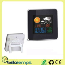 Rf 433MHZ Wireless Weather Station Clock With Outdoor Sensor
