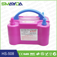 2015 china supply electric balloon pump for inflatable balloons