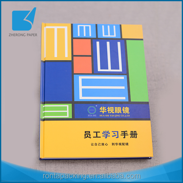 Top quality best sell paper printed recyclable notebook custom