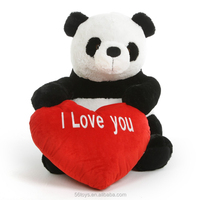 Cuddly China good quality stuffed panda bear toy