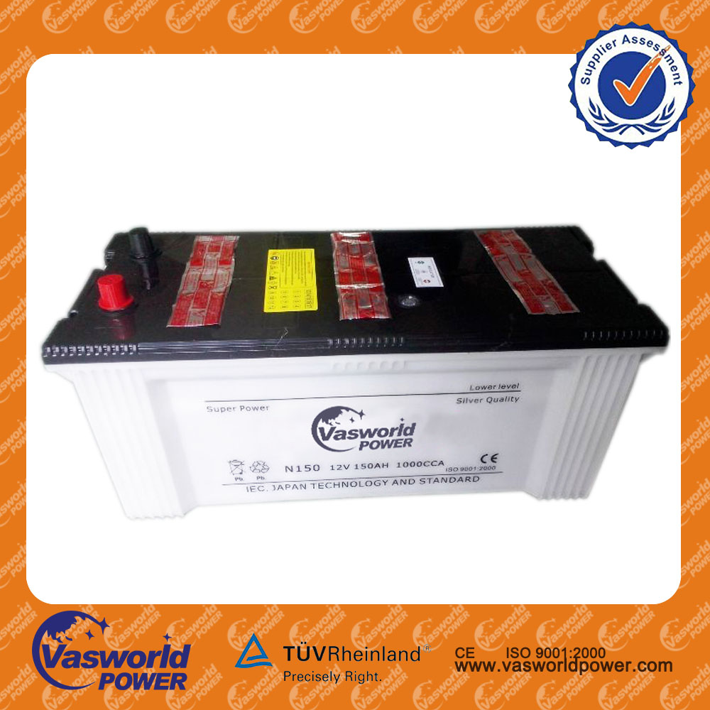 Battery Factory N200 12V 200ah Dry Charged Battery for Home lighting