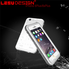 New waterproof protective case pc tpu unbreakable waterproof cell phone case for iphone 6s plus