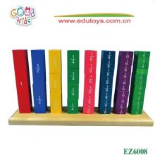 Montessori Equipment,Frctional Number Frame Toys