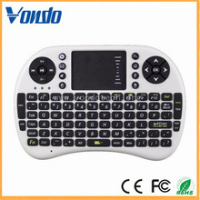 New styles 2.4g Air mouse i8 mini wireless keyboard For laptops Smart TV