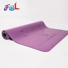 Stock Lot Anti-Skid Breathable Pu Leather For Yoga Mat