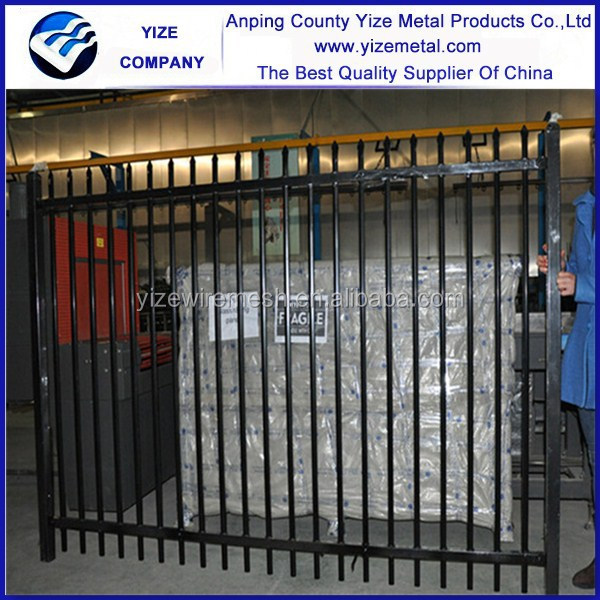 european fence panel/decorative metal palisade fence