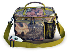 Hunting Camo Top Open Cooler Lunch Bag