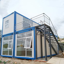 Eco Friendly Rock Wool Light Steel movable container house