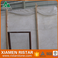 High quality Cream Marfil marble floor tiles and slabs