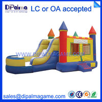 CE jumping inflatable slides for outdoor inflatable bouncy