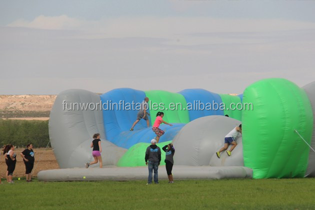 Hot Gaint Inflatable Obstacle Jumper, Inflatable Obstacle Course Series No.6 Jump Around