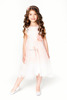 2017 summer dress new dress kids top quality cute lace long dress over keen baby girl clothes for 2-14 children