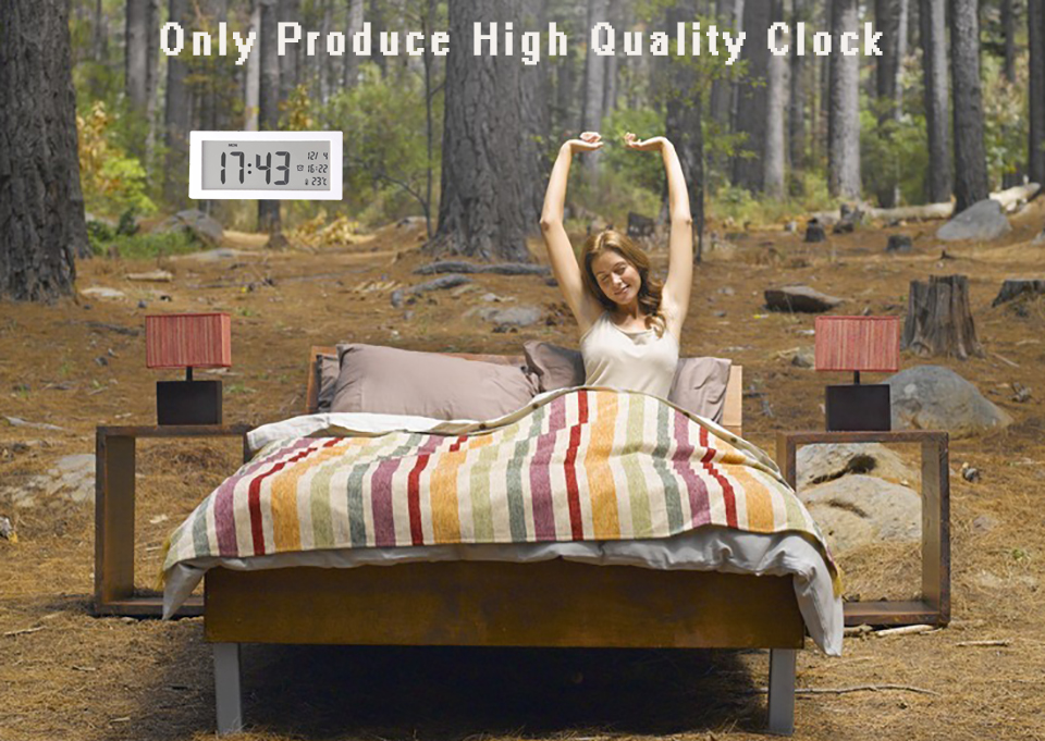 Ganxin Plastic alarm clock wake up light
