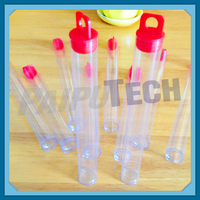 Plastic Clear PVC Pipe Tube for Candies