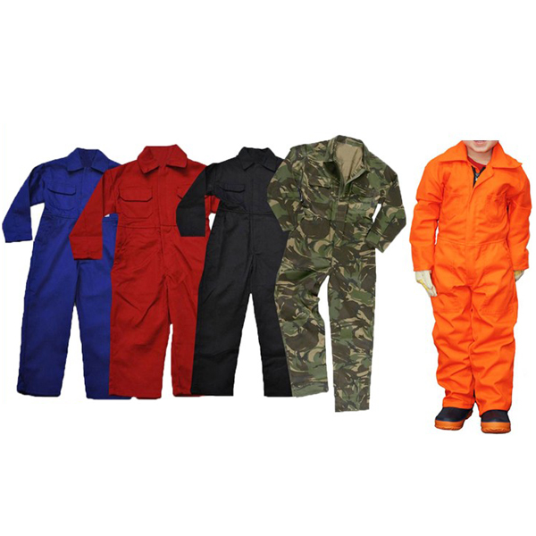 100 Cotton Children Coverall Workwear
