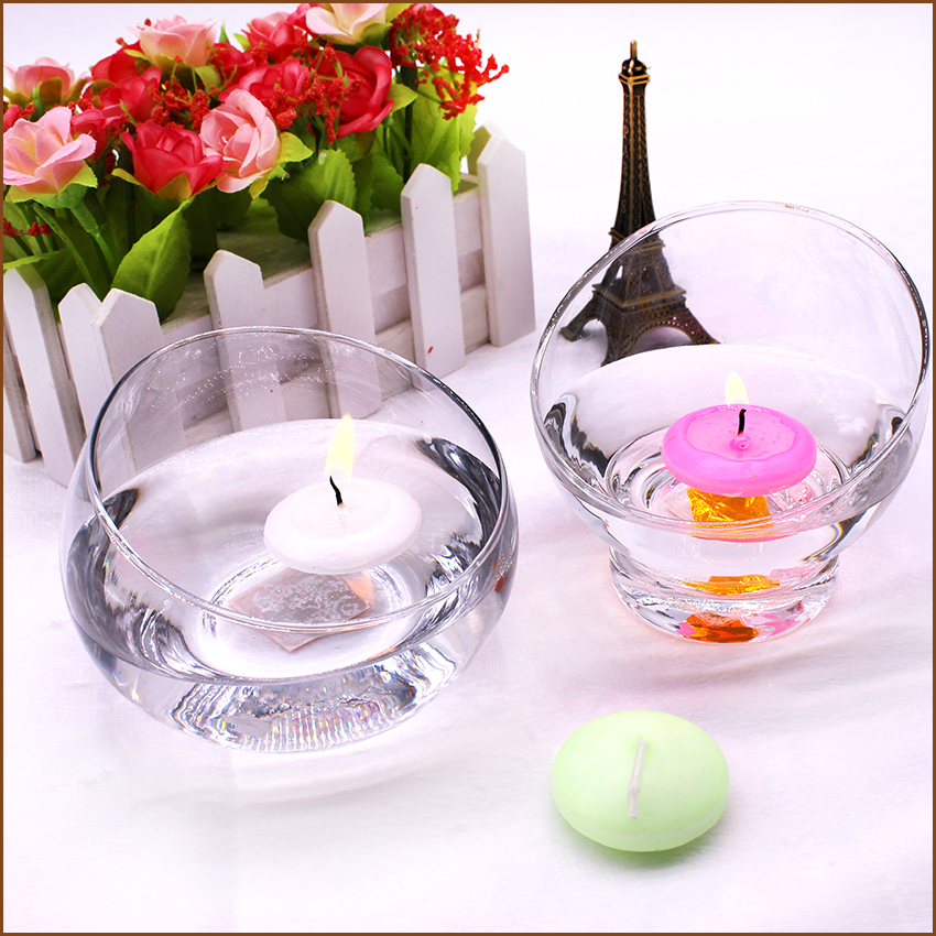 Paraffin Wax wedding Water Floating Candles