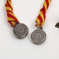 custom metallic medal for kung fu 15k dallas running metal plaque school medal