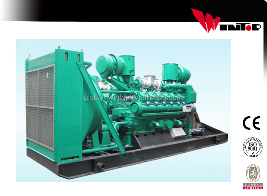400kw natural gas powerful genset